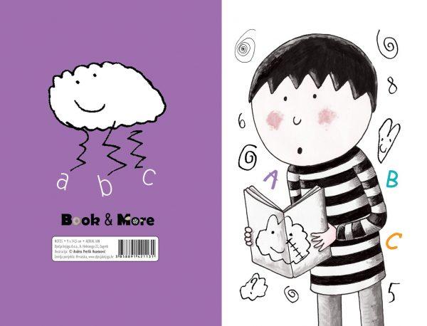 Mali notes s ilustracijom dječaka