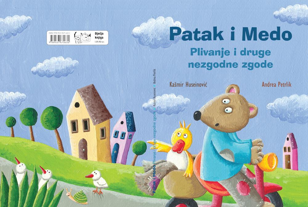 Priča o susjedima, Patak i Medo, u novoj avanturi i novoj slikovnici