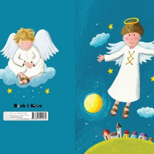 Veliki notes na crte s ilustracijama anđela